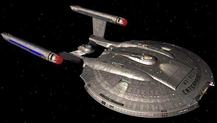 USS Voyager REVELL 1/677° NX-01_publicit%C3%A9