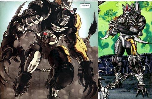 IDW Beast Wars comicsBeast Wars Ravage