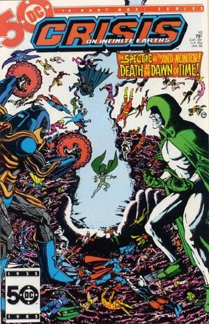 Cover for Crisis on Infinite Earths #10 (1986)