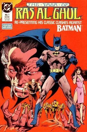 Cover for Saga of Ra's al Ghul #1 (1988)