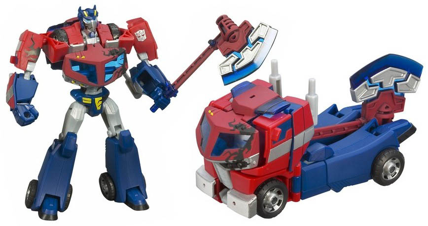 Optimus prime animated teletraan i the transformers - Transformers cartoon optimus prime vs megatron ...