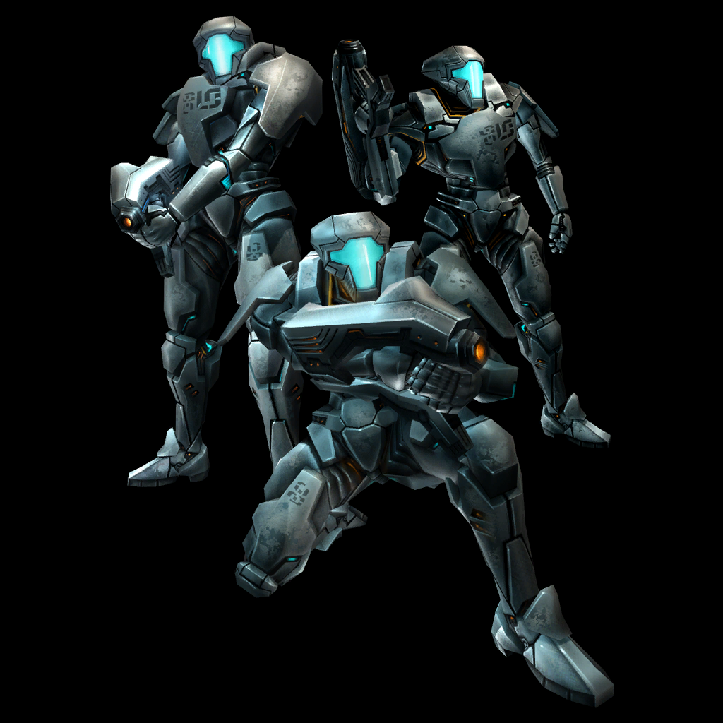 The United(Or, Universal) Federation of Chaakas. GFtrooper_trio