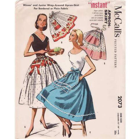 Womens 1940's & 1950's Sewing Patterns at RustyZipper.Com