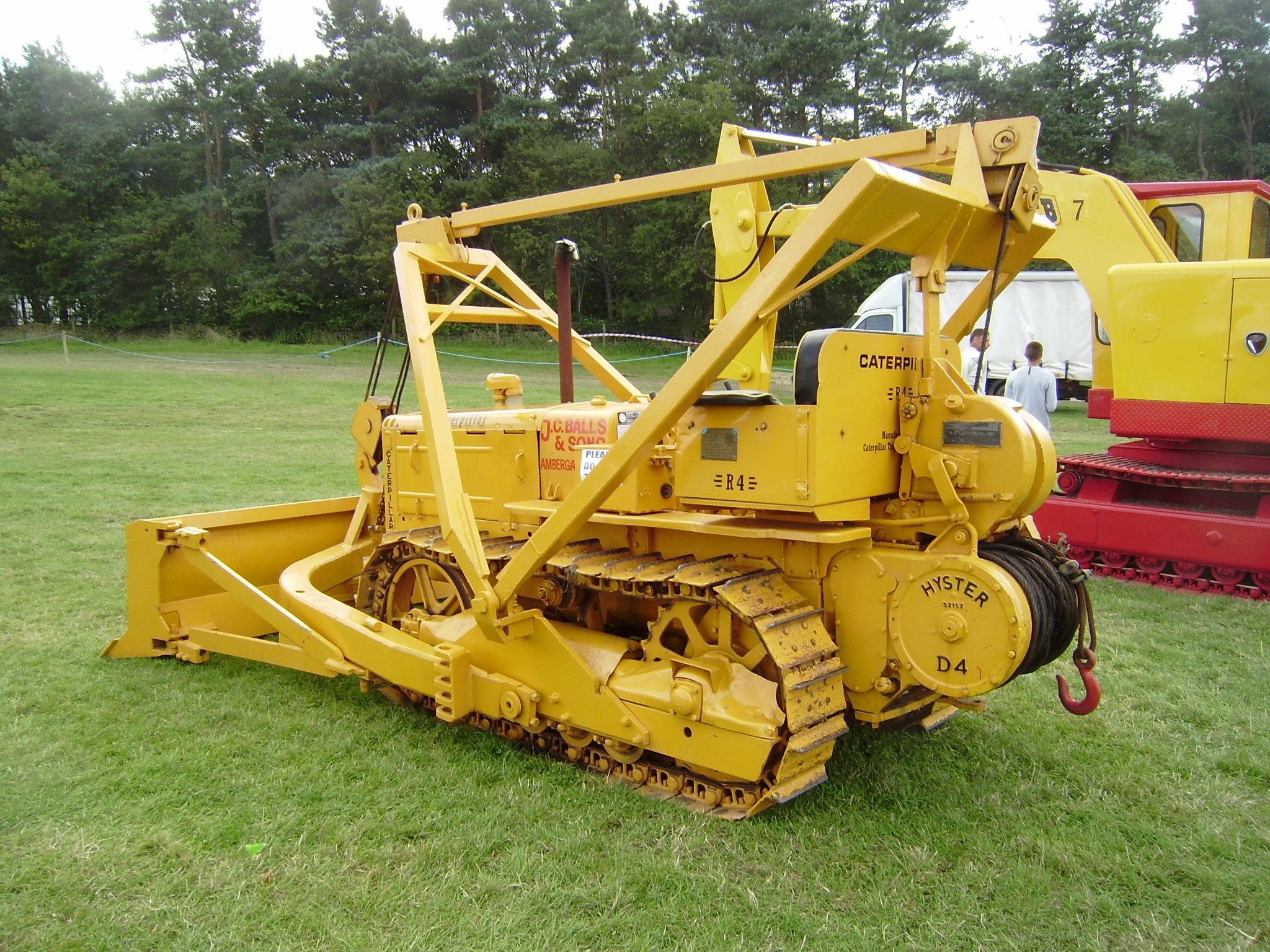 Lawn Tractor Dozer Tracks Conversion : Caterpillar inc tractor construction plant wiki the