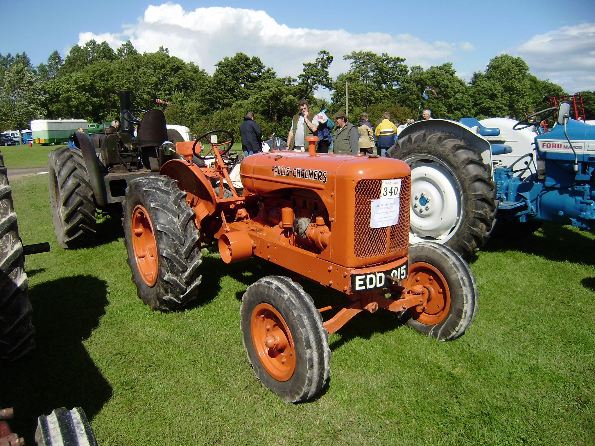 Allis Chalmers Company : Allis chalmers manufacturing company tractor