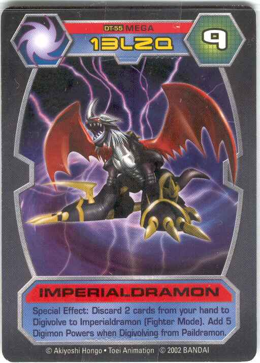 imperialdramon card - photo #12