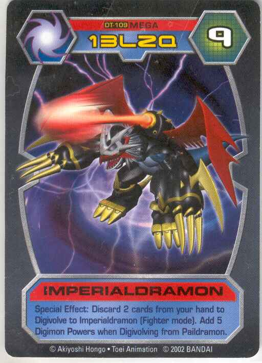 imperialdramon card - photo #7