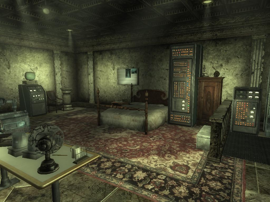 fallout 3 megaton house machine theme