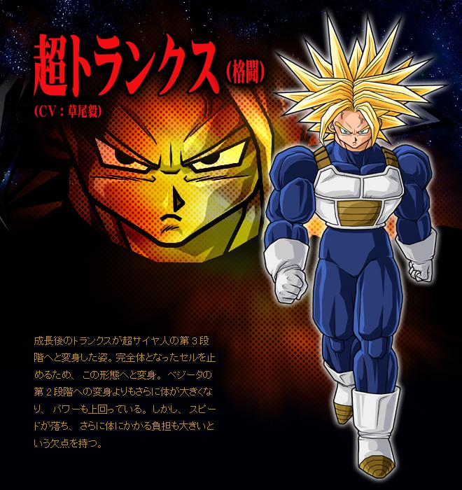 3rd grade super saiyan dragon ball wiki - Trunks super sayen ...