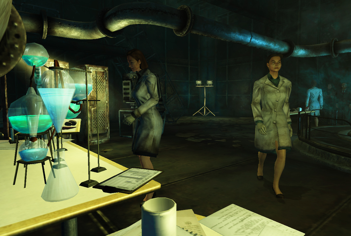 Scientific pursuits the fallout wiki fallout new for Entrance to rivet city