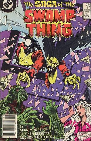 Cover for Swamp Thing #27 (1984)