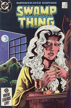 Cover for Swamp Thing #33 (1985)