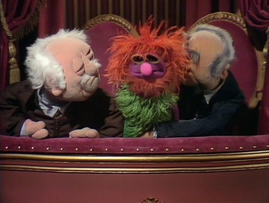Episode 101 juliet prowse muppet wiki for Balcony muppets