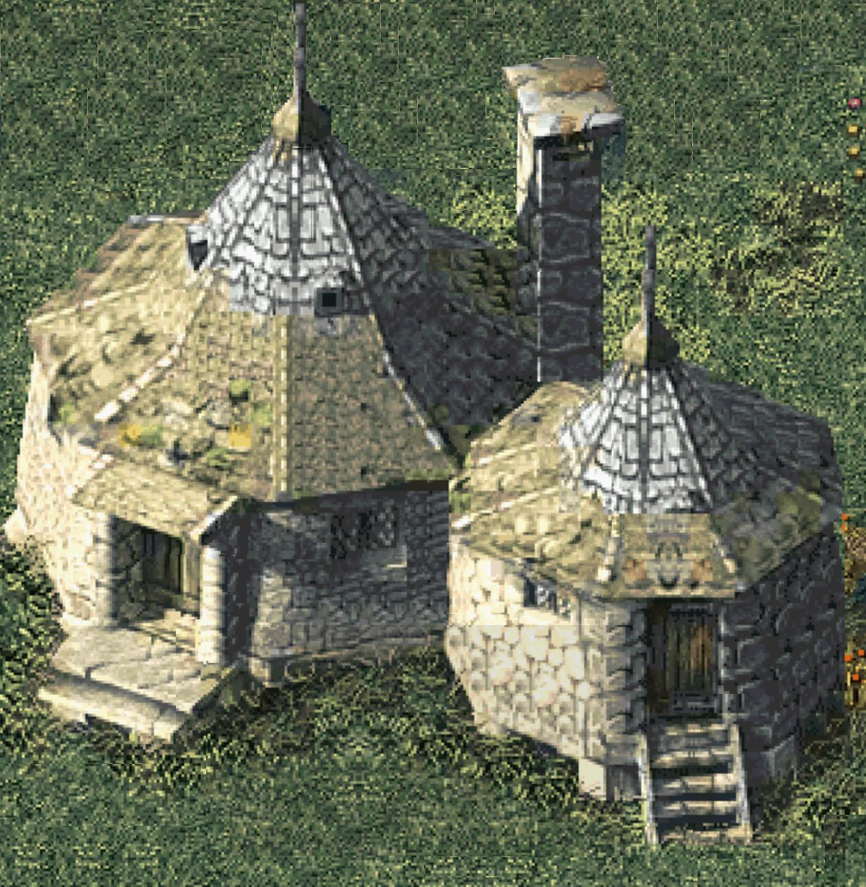 Hagrid 39 s hut harry potter wiki What house was hagrid in