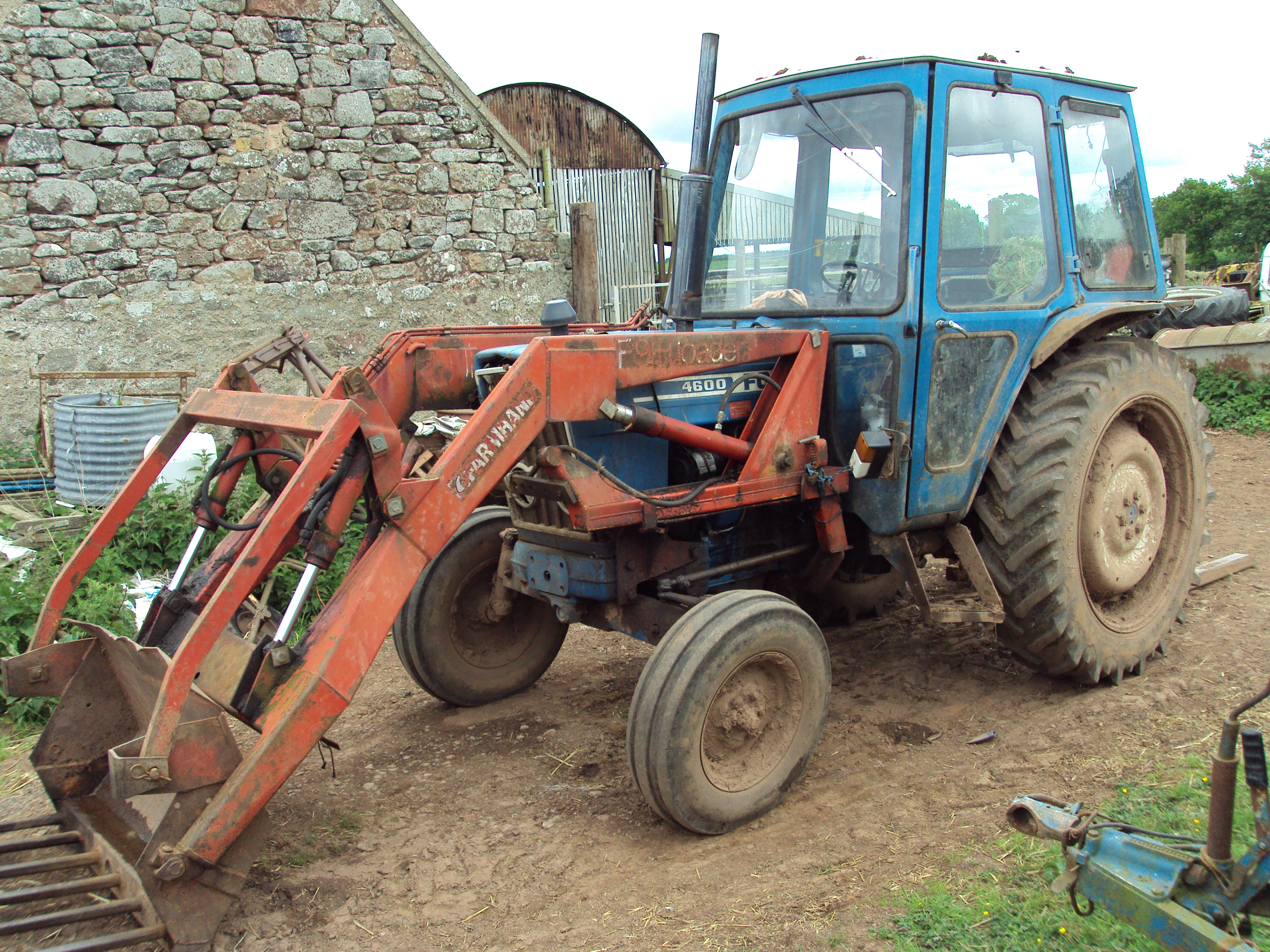Ford 4600 Diesel Tractor Parts : Ford tractor horsepower