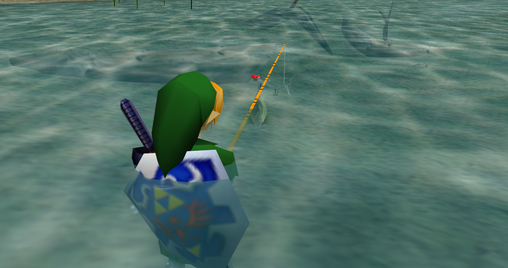 Fishing - Zeldapedia, the Legend of Zelda wiki - Twilight Princess, Ocarina of Time, A Link ...