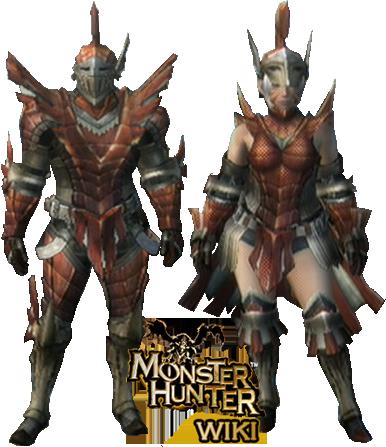 monster hunter armor male