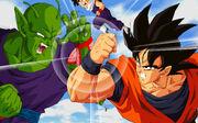 Goku y Piccolo