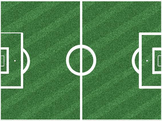 Cancha de futbol vista desde arriba - Imagui