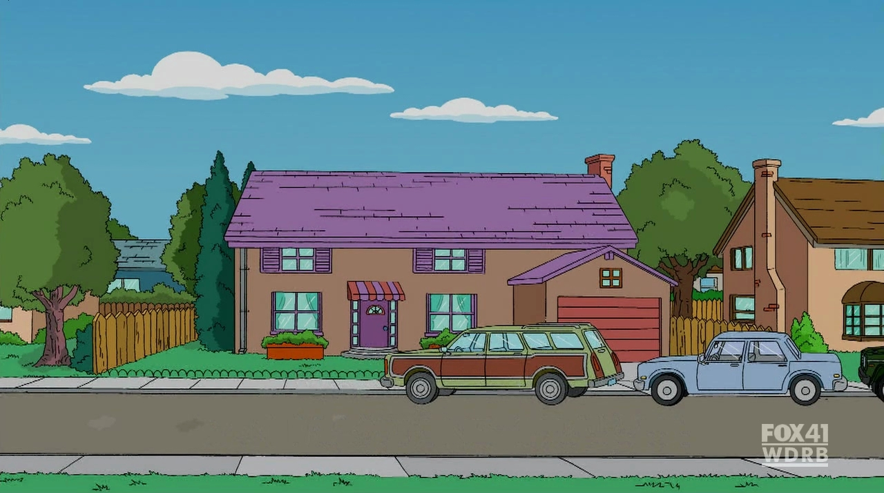 744 evergreen terrace simpsons wiki for 742 evergreen terrace springfield