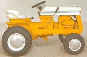 International Cub Cadet 124 1968