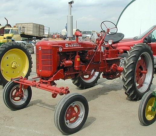 Farmall C Tractor : Farmall super c tractor construction plant wiki the