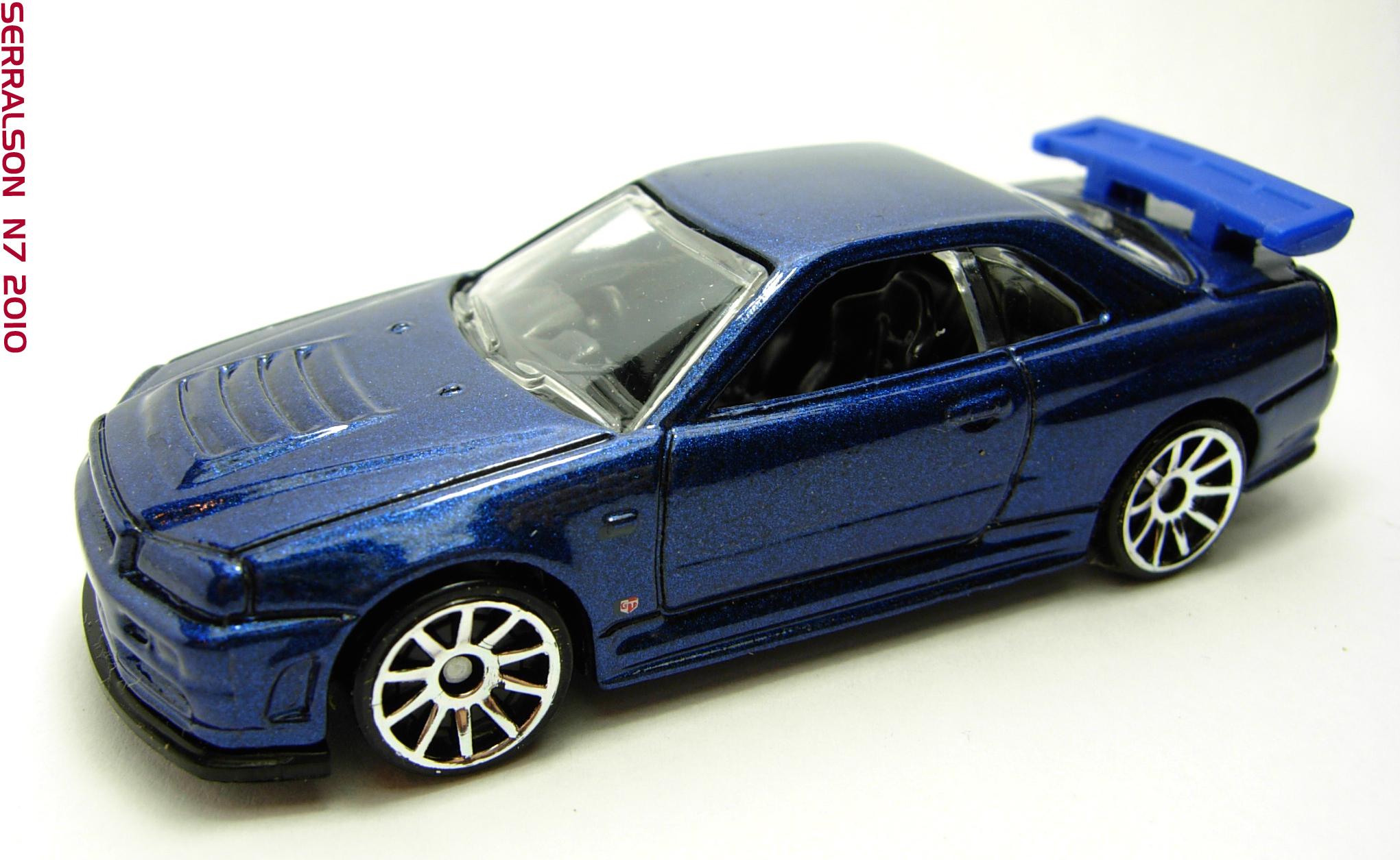 Nissan Skyline Gt R R34 Hot Wheels Wiki