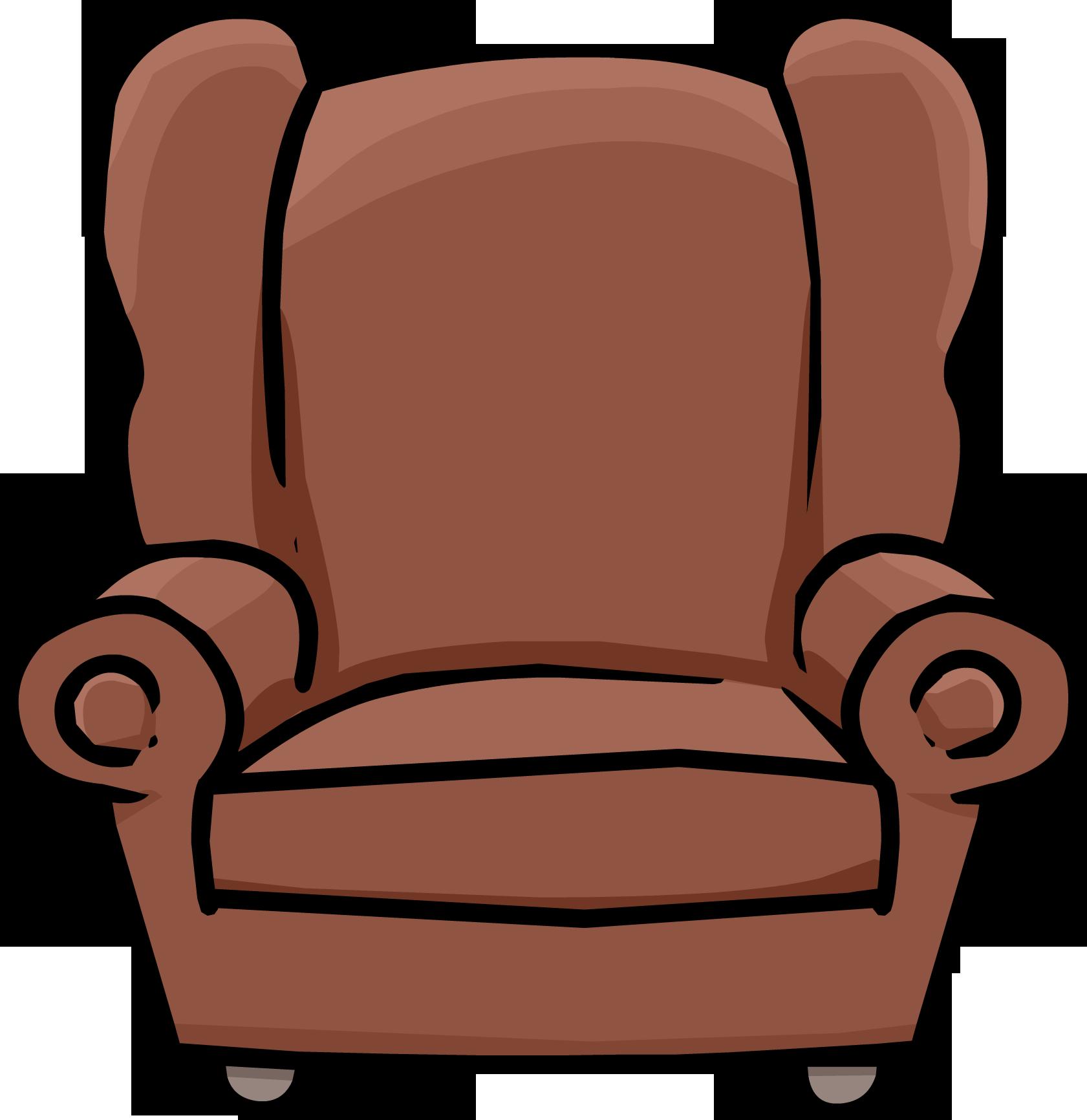 Club Penguin Book Room Chair