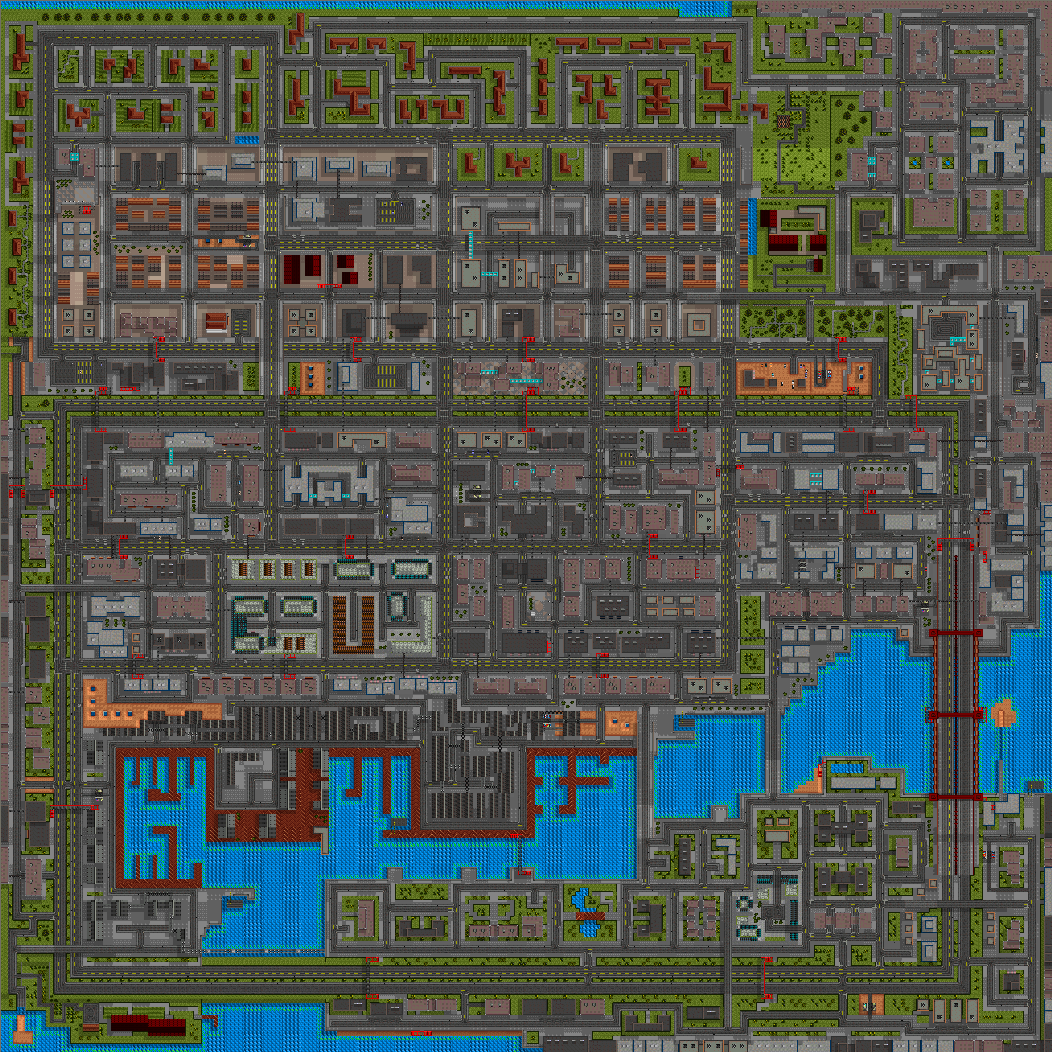 GTA San Andreas Map