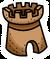 Sand Castle Pin