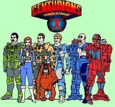 dibujos de mi infancia:los centuriones
