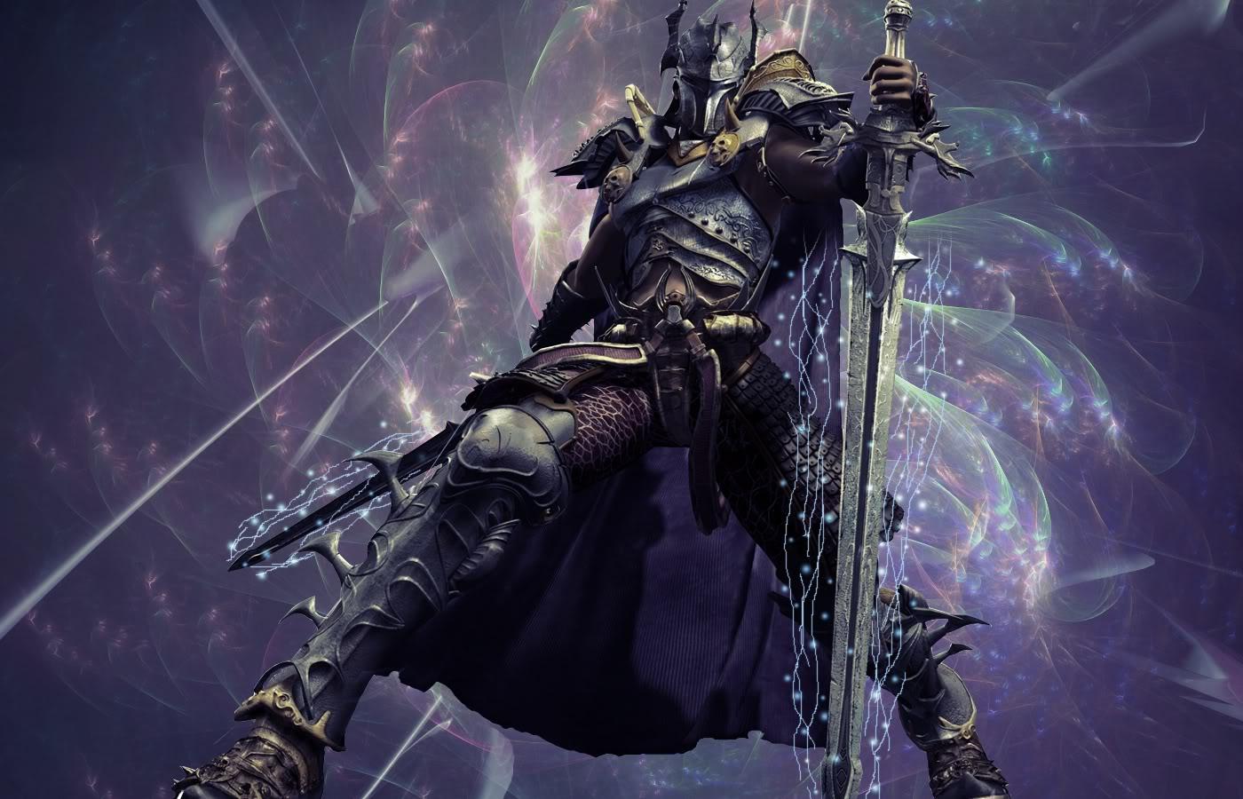 Dark Knight Warrior Wallpaper Download