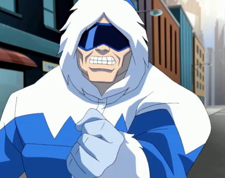 Young Justice CharactersYoung Justice Captain Cold