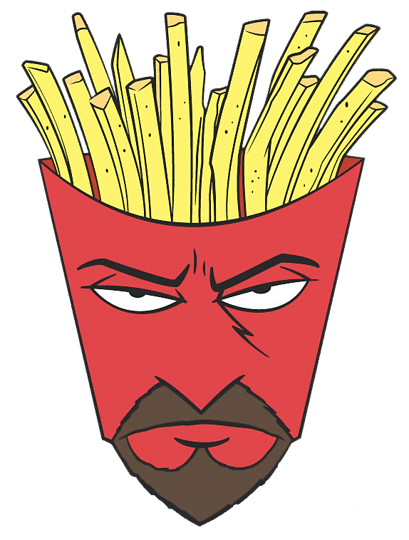 Directly. The aqua teen unger force