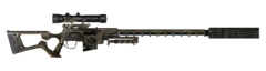 FNV sniper rifle Suppressor