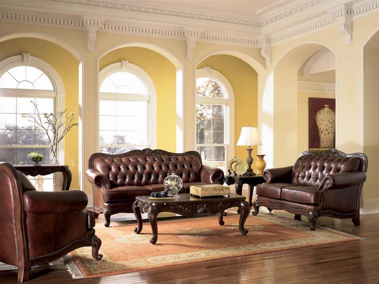 Image European Tuscan Decor Furniture Living Gamers Fanon