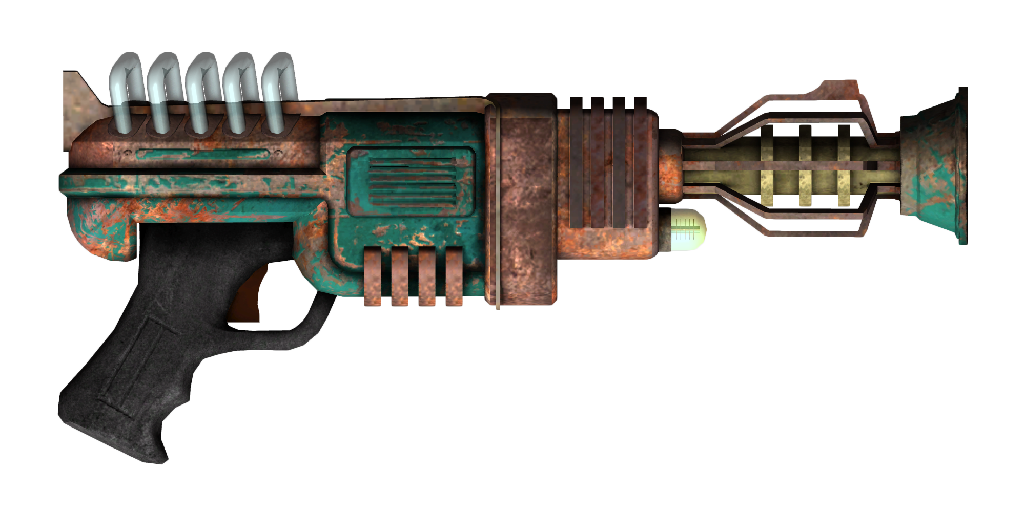 recharger pistol the fallout wiki fallout new vegas and more. Black Bedroom Furniture Sets. Home Design Ideas