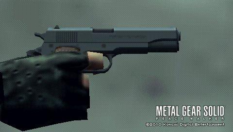 M1911A1 - The Metal Gear Wiki - Metal Gear Solid Rising ... M1911 Custom Mgs4
