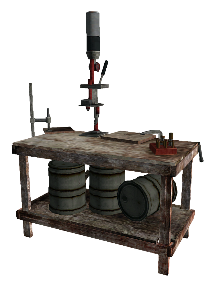 Reloading Bench The Fallout Wiki Fallout New Vegas And More