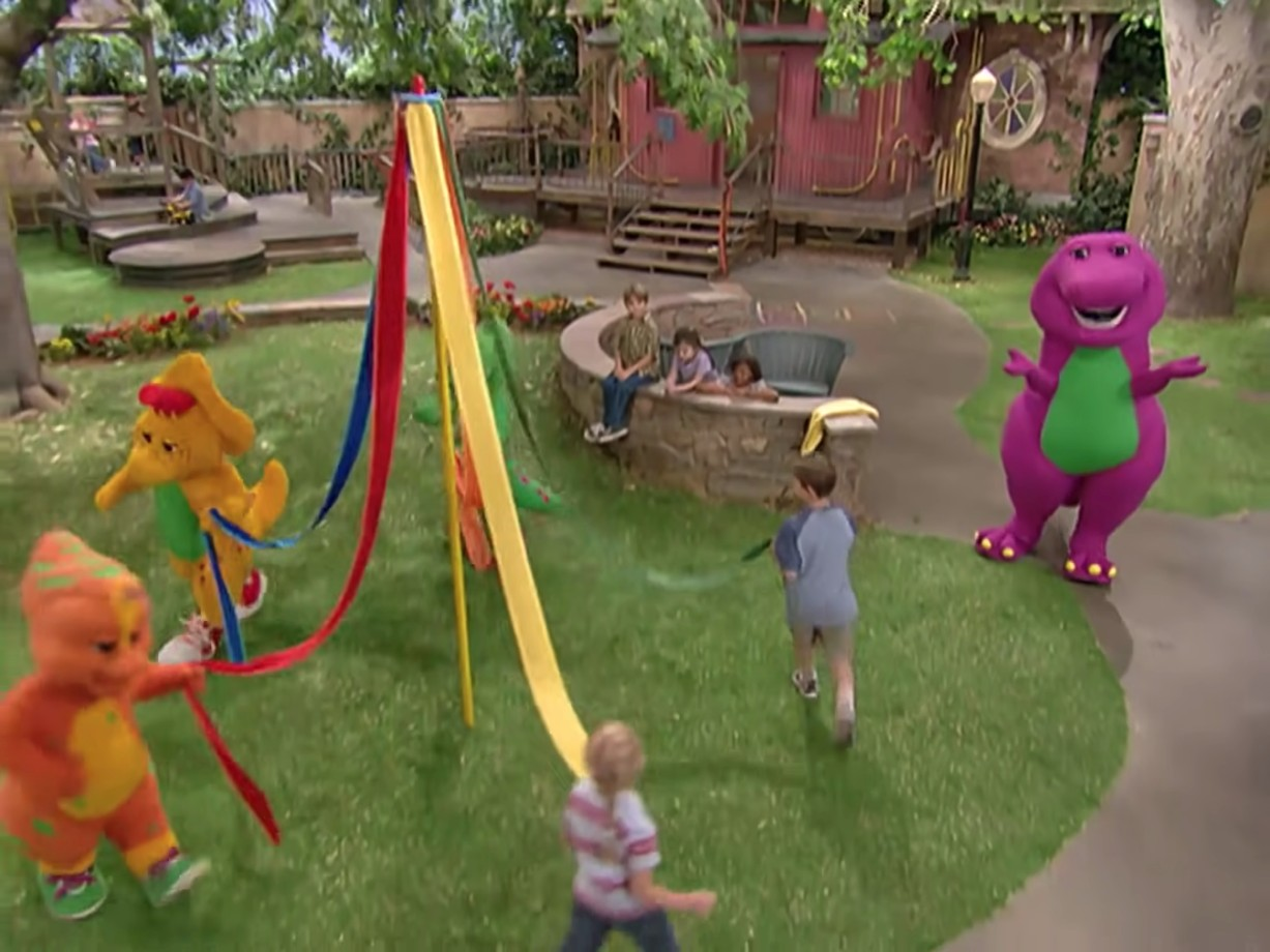 barney playing games