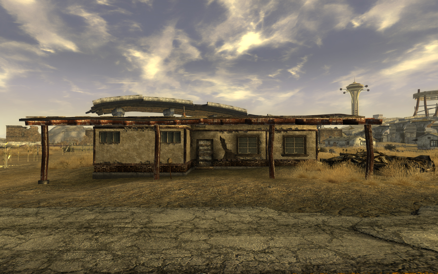 how to move buildings in fallout new vega