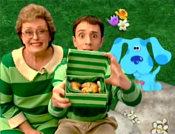 Steves Grandmother Blues Clues Wiki