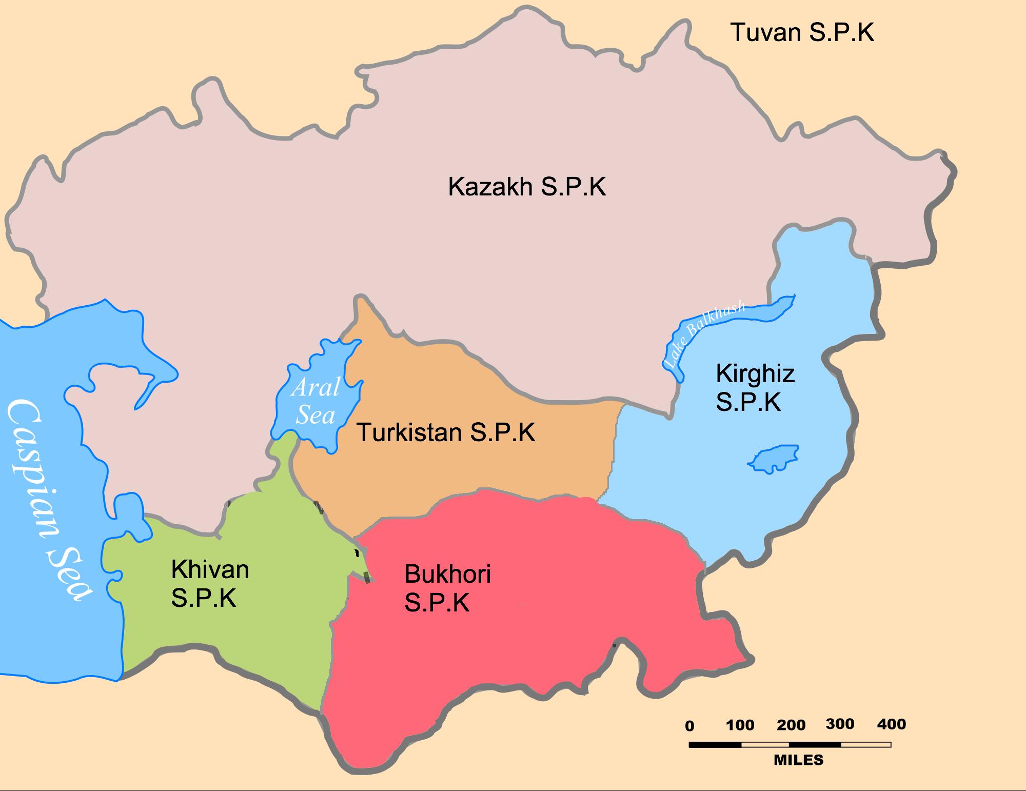 Ukraine Central Asian Republics Russian 8