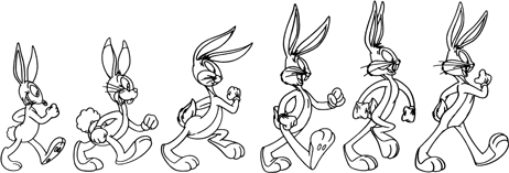 Bugs Bunny's Evolution