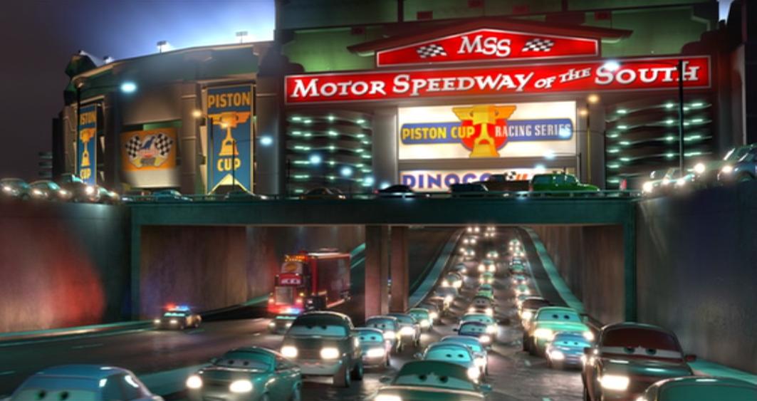 Motor Speedway Of The South Pixar Wiki Disney Pixar