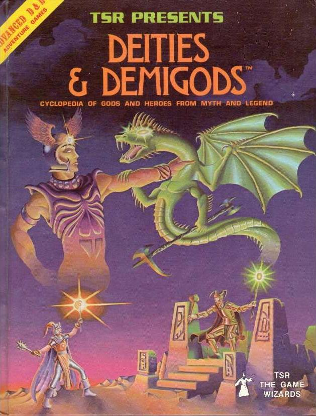 advanced dungeons and dragons 1st edition deities and demigods pdf
