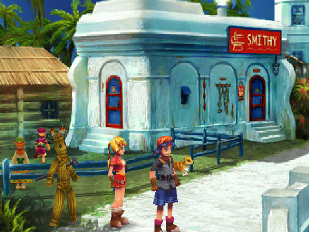 chrono cross gameplay images chronopedia chrono