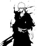 Ichigo avec son fullbring-uniforme shinigami