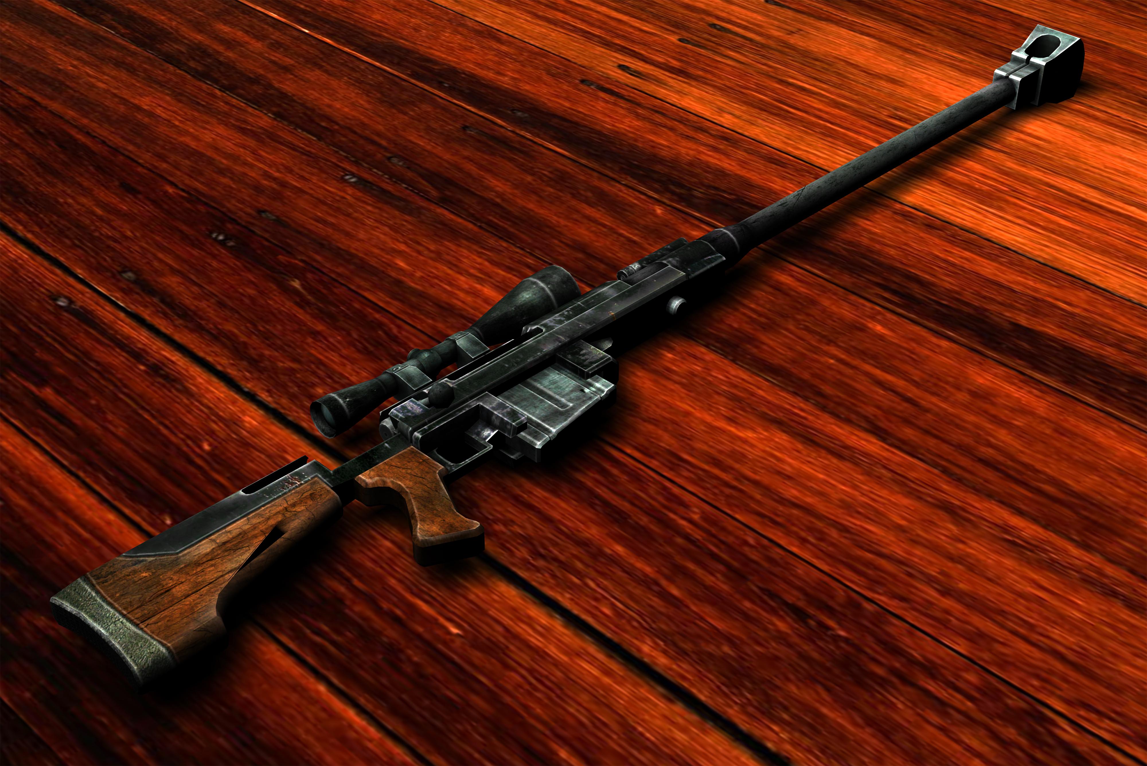 Shooting Material: Anti-materiel Rifle