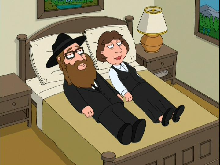 Гриффины - Еврейский секс. Некоторые люди бывают прямо как евреи.